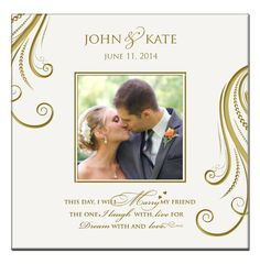 Personalized Mr & Mrs Wedding Anniversary Gifts Photo Album