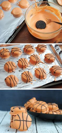 Get yourself on the scoreboard with these Slam Dunk Basketball Cookies! As college basketball ensues, you're going to want to have a great cookie recipe to fall back on. These treats are a quick and easy way to get into the sporty spirit this spring.