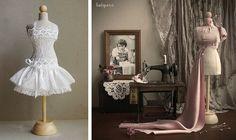 Maniquis estilo vintage Clothespin Dolls, Ideas Geniales, Barbie Dress, Victorian, Diy, Dresses, Home Decor, Jewelry, Fashion