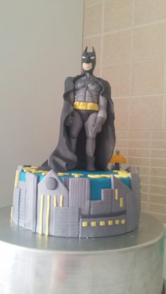 Batman in pasta di zucchero