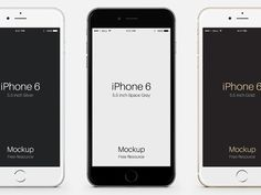 iPhone 6 Plus Psd Vector Mockup