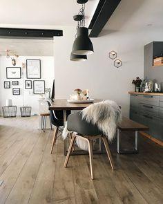 "6,469 Me gusta, 29 comentarios - NORDIK SPACE (@nordikspace) en Instagram: ""Dining room inspiration.@aplaceforus #scandinavian #interior #homedecor #simplicity #whiteliving"""