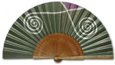 Catálogo - Abanicos Pintados a Mano Hand Fans, Hands, Pattern, Outfits, Cotton Canvas, Hearts Of Palms, Painted Fan, Favors, Accessories