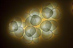 Conjunto de arandelas Nuage, design Philippe Nigro para Foscarini
