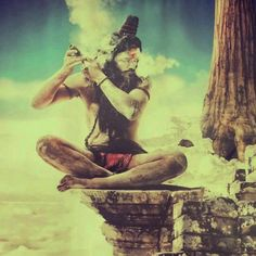 "Reading the Yoga Sutras of Patanjali was a life-changer for me. The book essentially…"" Shiva Art, Shiva Shakti, Hindu Art, Rudra Shiva, Lord Shiva Pics, Lord Shiva Hd Images, Yoga, Shiva Tattoo, Avatar"