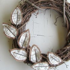 Easy wreath embellishment.
