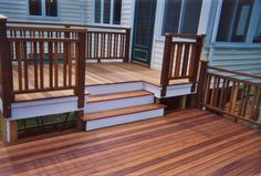 Deck railing ideas will be hard in the time of too many considerations composed. It does not mean that it& The post The Steps of Considering Deck Railing Ideas appeared first on Amazing Home Decor. Wood Deck Railing, Deck Railing Design, Deck Design, Railing Ideas, Deck Stairs, Patio Steps, Front Deck, Back Patio, Front Porch