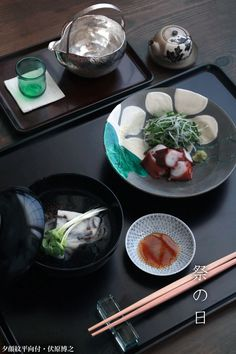 Japanese dish for early summer たこと白天