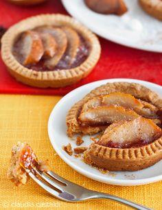crostata farro e pere