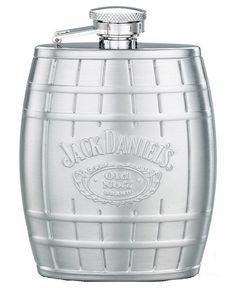 Jack Daniel's Steel Barrel Flask