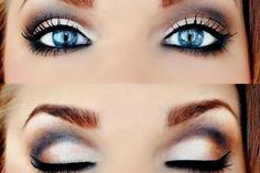 Makeup Looks for Blue Eyes 2016
