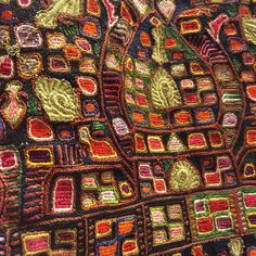 Embroidery detail #benakimuseum Benaki Museum, Greek Costumes, Embroidery Art, Folk Art, Bohemian Rug, City Photo, Weaving, Traditional, Quilts