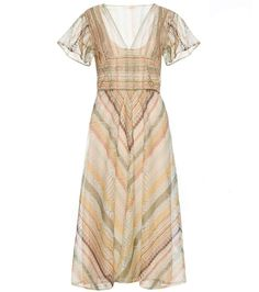 VALENTINO Silk Dress. #valentino #cloth #dresses