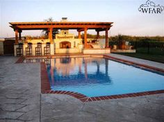 Resort like pool and outdoor kitchen, and I have it listed For Sale! Call me if you'd like to look!