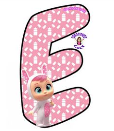 Office Birthday, 5th Birthday, Emma Bebe, Cry Baby, Baby Shower, Letters And Numbers, Baby Dolls, Minnie Mouse, Barbie