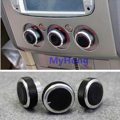 Air Conditioning heat control Switch knob For FORD FOCUS 2 MK2 Focus 3 MK3 AC Knob Car 3pcs per set