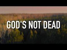 God's Not Dead - [Lyric Video] Newsboys Christian Music Videos, Spiritual Songs, Gods Not Dead, One Republic, Finding God, Verses, Scriptures, My Jesus, Music Publishing