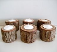 GIFT IDEAS FOR THE HOME DECORATOR WITH RUSTIC STYLE  Candles: A safe bet for creating a cozy ambiance. The natural tree bark will bring the scent of the forest right inside. Picked by: Jesse, Pickie Editor #Pickie #Holidays #giftguide