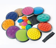 Tactile Discs, Complete Set 1 and 2