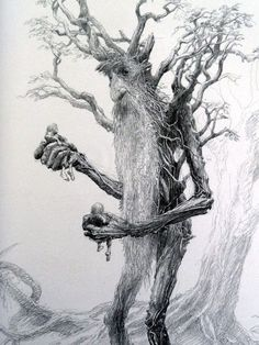 Treebeard from Lord of the Rings - The Two Towers