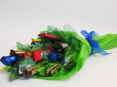 Valentine Candy Bouquet Arrangements   Sweet To Eat Gifts » Candy Bouquets and Sweet Gifts » Recognition ...