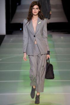 Giorgio Armani Fall 2014 Ready-to-Wear Collection Slideshow on Style.com