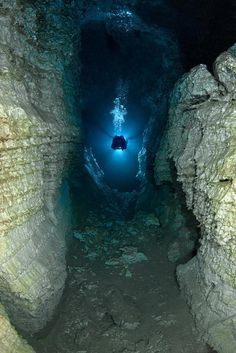 Largest Underwater Gypsum Cave on Earth