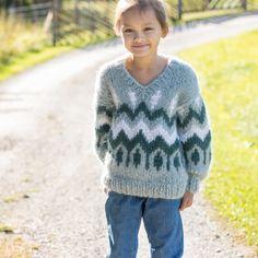 18 KIDS ALPACA LOVE COLLECTION | Camilla Pihl Strikk Camilla, Emerald, Kids, Pullover, Collection, Knitting, Sweaters, Design, Fashion