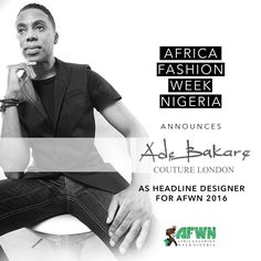 ADE BAKARE COUTURE LONDON IS HEADLINE DESIGNER FOR #AFWN2016