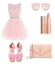 """""""☺"""" by azra-limic ❤ liked on Polyvore featuring Quay and Yves Saint Laurent"""