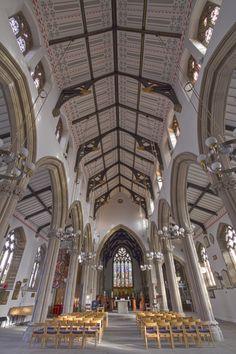 The Minster Church of St John the Evangelist. Located in Preston, Lancashire, England, UK.