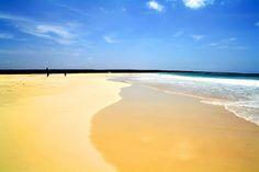 Santa Monica beach, Cape Verde, Boa Vista