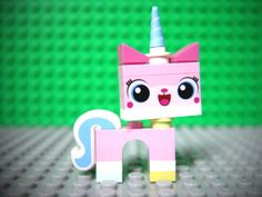 Uni Kitty - Hailing from Cloud Cuckoo Land, the capital of rainbows and puppies, she is half unicorn, half animé kitten and one endless dance party. She is happy to join her fellow LEGO Master Builders in the quest to defeat Lord Business, but she also has a powerful secret.