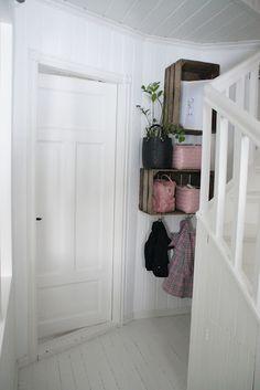Reciclar viejos cajones de vino o fruta | Decorar tu casa es facilisimo.com