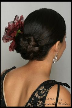 headband hair style american wedding hair on 9131