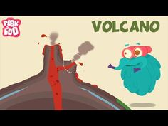 Structure of a volcano. Explain with the help of 3 wild card how a volcano occurs 4th Grade Science, Kindergarten Science, Science Classroom, Teaching Science, Science For Kids, Earth Science, Science Activities, Social Activities, Fourth Grade