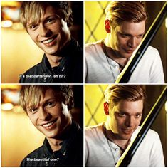 """""""The Fair Folk"""" - Sebastian and Jace Shadowhunters Tv Show, Shadowhunters The Mortal Instruments, Cassie Clare, Jace Wayland, Clace, The Dark Artifices, City Of Bones, The Infernal Devices, Vampire Diaries The Originals"""