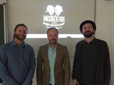 Malte Böttges und Dennis Busch halten einen Gastvortrag über Gründung und Unternehmertum. Sie sind Inhaber der renommierten Kölsch Bar und haben den Mexikölner erfunden.