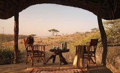 Breakfast at Lewa Safari Camp (Kenya)
