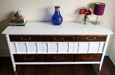 Mediados siglo cómoda / aparador / muebles por restauredesigns