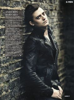 Aneurin Barnard | just played role of Richard in White Queen miniseries