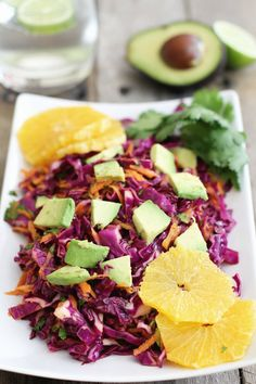 Red Cabbage and Citrus Salad: Jessi's Kitchen