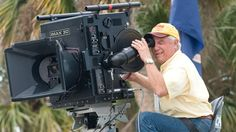 James Neihouse operating an IMAX 3D camera.