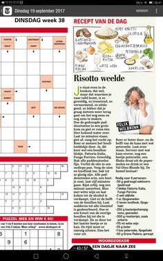 Spatzle, Pasta, Dutch Recipes, Cooking With Kids, Vintage Recipes, Food, Newspaper, Turks, Afrikaans