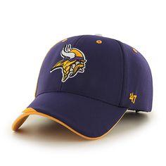51aea80e509 Minnesota Vikings Neutral Zone MVP Purple 47 Brand Adjustable Hat
