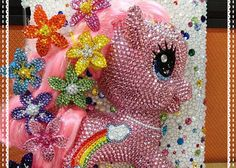 pony bling phone cases | ... Crystal Style 3D My Little Pony iPad2 New iPad Case - ZoeCrystal
