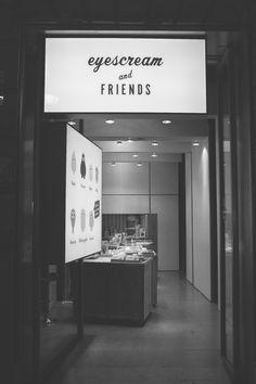 Eyescream & friends ice cream shop