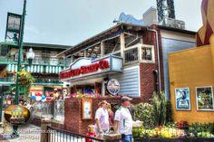 Bubba Gump's Shrimp Co. Restaurant in Gatlinburg, TN.
