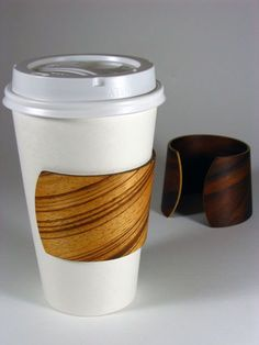 Awesome coffee sleeve. Doubles as a bracelet for the ladies.