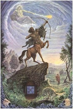 Sagittarius: I see the goal. I reach the goal and see another.